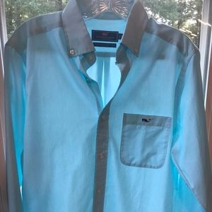 Vineyard Vines Classic Fit Tucker Shirt xs